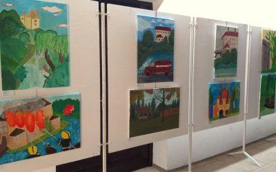 Odprtje razstave likovnih del 38. slikarskega EX tempora mladih likovnikov Bele krajine v Gradacu