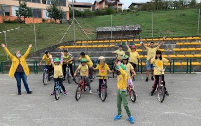Podpiramo naše kolesarje